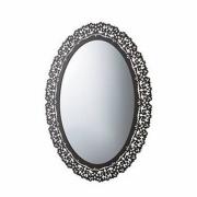 Зеркало для ванной Globo Paestum PASR38 71х95 см, Metallo Antico