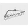 Полочка металлическая Tiffany World Bristol TWBR534cr угловая 21x21 см, хром