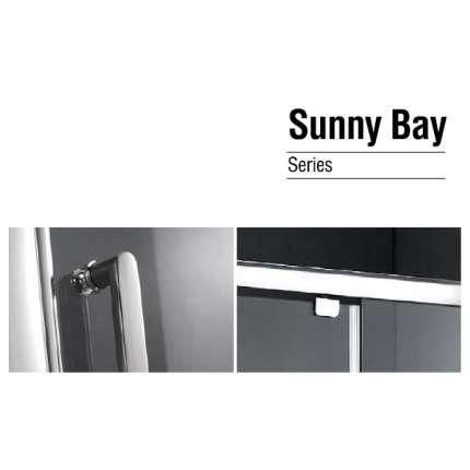 Душевая дверь Gemy Sunny Bay S28150 80x190