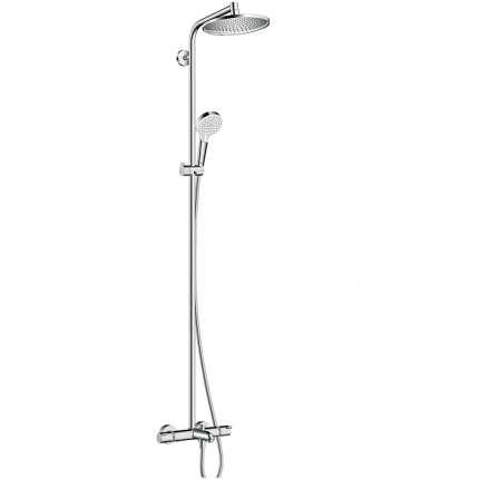 Душевая система Hansgrohe Crometta S 240 1jet Showerpipe 27320000 хром