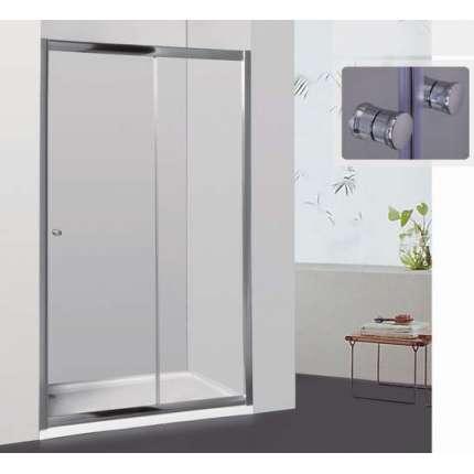 Душевая дверь RGW CL-12 140х185 рифленое стекло
