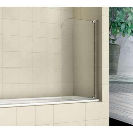 Шторка на ванну RGW SC-01 80х150 прозрачное стекло