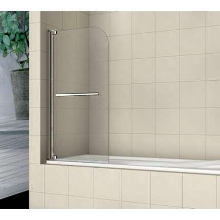 Шторка на ванну RGW SC-02 80х150 прозрачное стекло