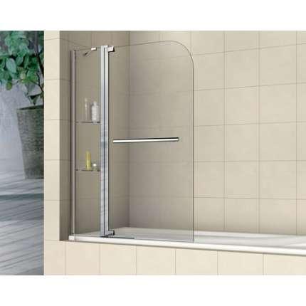 Шторка на ванну RGW SC-04 110х150 прозрачное стекло