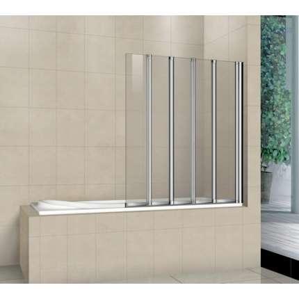 Шторка на ванну RGW SC-21 120х150 прозрачное стекло