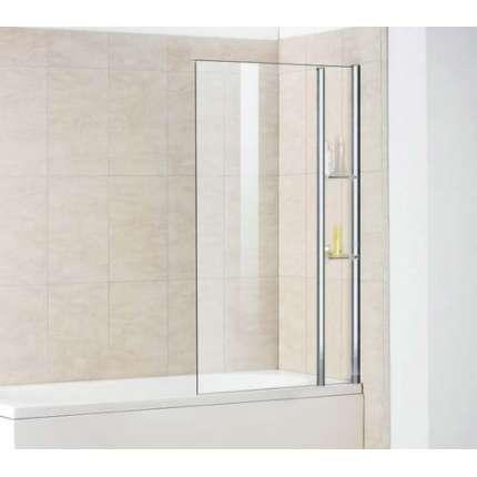 Шторка на ванну RGW SC-54 80х150 прозрачное стекло