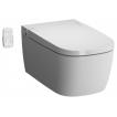 Унитаз подвесной VitrA V-Care 5674B003-6104 безободковый, с функцией биде и сиденьем микролифт