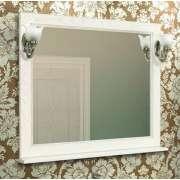 Зеркало для ванной Акватон Жерона 105 белое золото