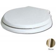 Сиденье для унитаза Azzurra Jubilaeum/Giunone 1800/F bi/br с микролифтом, бронза