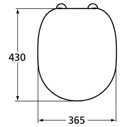 Сиденье для унитаза Ideal Standard Connect E712701 с микролифтом