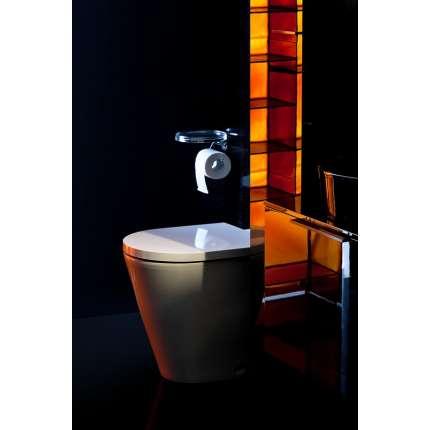 Сиденье для унитаза Laufen Kartell 8.9133.1.000.000.1 с микролифтом