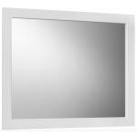 Зеркало для ванной Belux Рояль В 106 белое