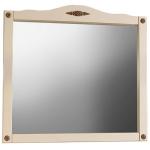 Зеркало для ванной Belux Империя В 105 слоновая кость