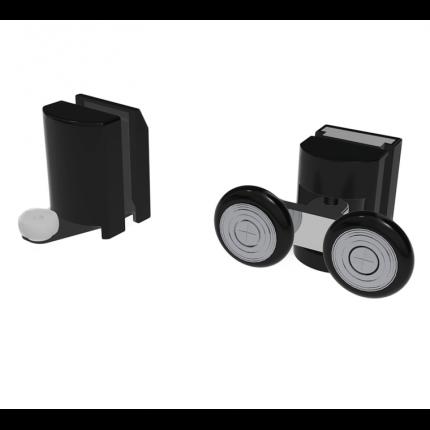 Душевая кабина без пара Black&White G8708 80x110