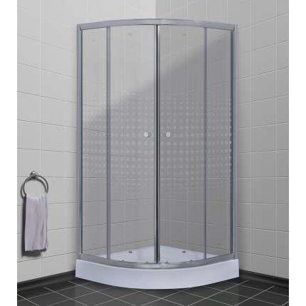 Душевой уголок Timo Romb Glass TL-8001 80х80 прозрачный