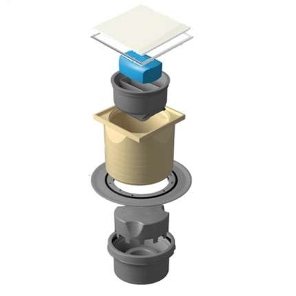 Душевой трап Pestan Confluo Standard 13000111 с решеткой
