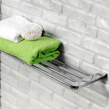 Полка для полотенец WasserKraft Kammel K-8311 хром
