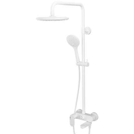 Душевая система WasserKraft Mindel A18501 Белая матовая