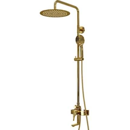 Душевая система WasserKraft Sauer A17101 золото глянцевое